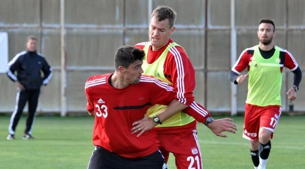 Sivasspor, Çaykur Rizespor Maçı Hazırlıklarına Başladı