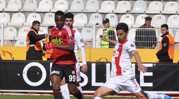 Sivasspor-gaziantepspor Fotoğrafları