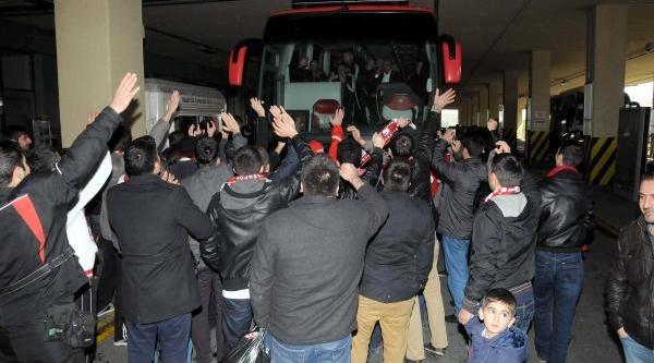 Sivasspor Istanbul'A Geldi