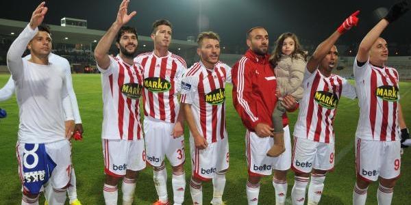Sivasspor Kayseri Erciyesspor Maç Fotoğraflari