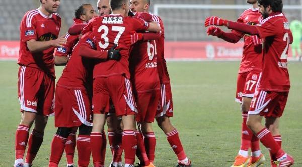 Sivasspor-Nazilli Belediyespor: 2-1 (Türkiye Kupasi)