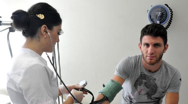 Sivasspor'da 2 Transfere Sağlık Kontrolü