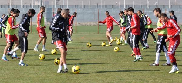 Sivasspor'da Galatasaray Için Hirsli Çalişma