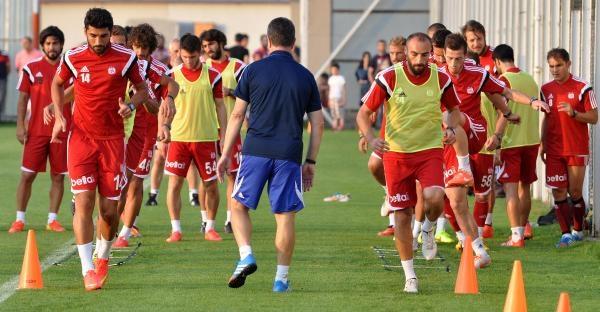 Sivasspor'da Gaziantepspor Maçı Hazırlıkları Sürüyor