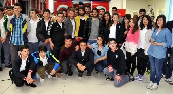 Sivassporlu Futbolcular Öğrenciler İle Bir Araya Geldi