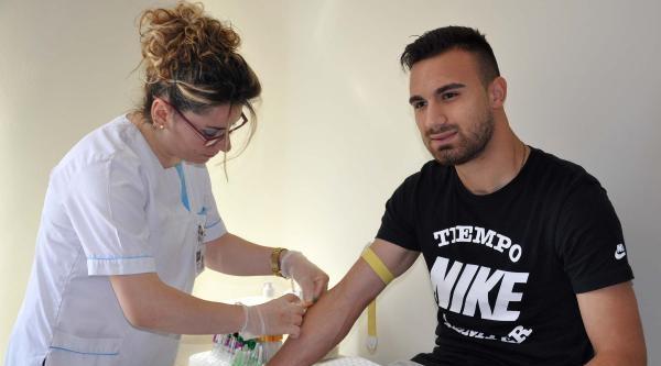 Sivasspor'lu Futbolcular Sağlık Kontrolünde