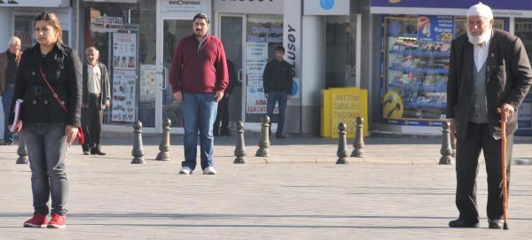 Sivas'ta 10 Kasim Anma Töreni Düzenlendi