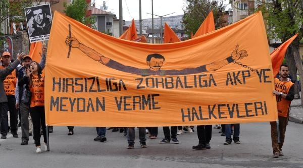 Sivas'ta 1 Mayıs Coşkusu