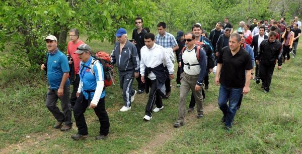 Sivas'ta 'dünya Tütünsüz Günü' Yürüyüşü