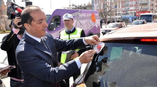 Sivas'ta 'emniyet Kemerimi Takıyorum' Uygulaması