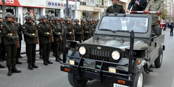 Sivas'ta Gerçeğini Aratmayan 29 Ekim Provasi