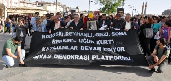 Sivas'ta 'gezi Parkı' Eylemi