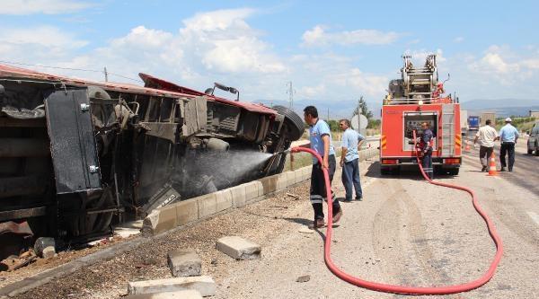 Sivas'ta Kaza: 1 Yaralı