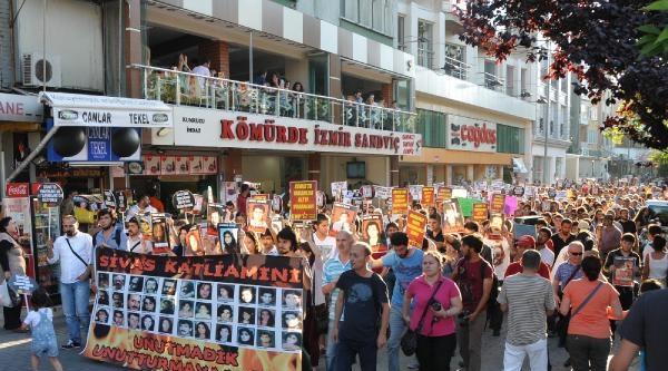 Sivas'ta Ölenler Eskişehir'de Anıldı (2)
