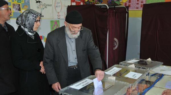 Sivas'ta Seçime Yoğun İlgi