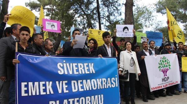 Siverek'te Berkin Elvan'ın Ölümü Ve Hdp'ye Saldırılara Tepki