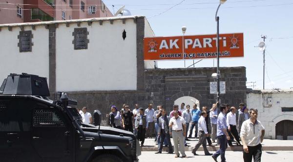 Siverek'te Elektrik Kesintisi Protestosunda Gerginlik (3)