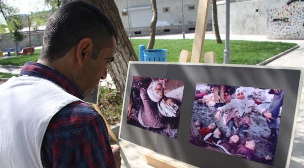 Siverek'te 'halepçe Katliamı' Sergisi