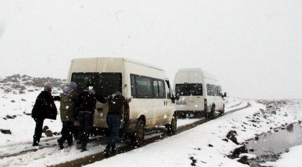 Siverek'te Kar Yağışı