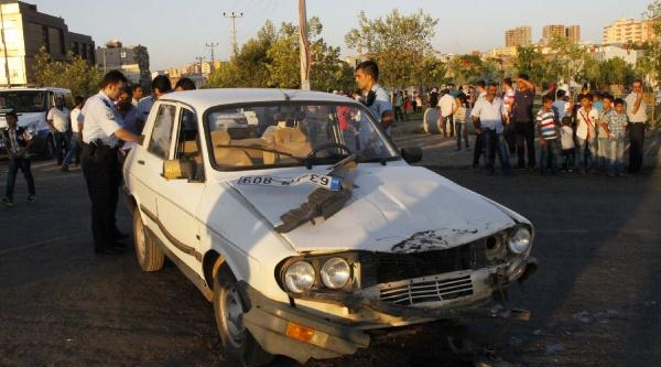Siverek'te Kaza: 1 Yaralı