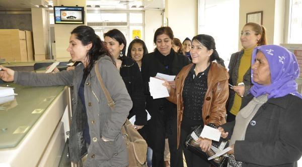 Siverek'te Kesk Üyeleri, Cezaevindeki Kadınlara Mektup Gönderdi