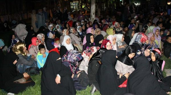 Siverek'te Mısır'daki İdam Kararları Protesto Edildi