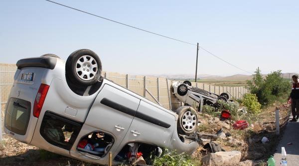 Sivrihisar'da Kaza: 4 Ölü, 4 Yaralı