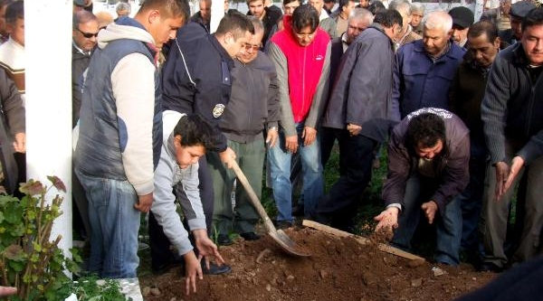 Soba Kurbani Emekli Polis Toprağa Verildi