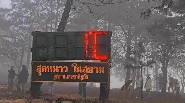 Soğuk Hava Tayland'I Vurdu