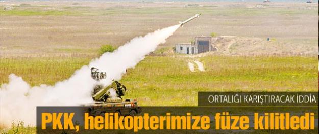 Şok iddia: PKK'nın elinde SA-8 füzesi var
