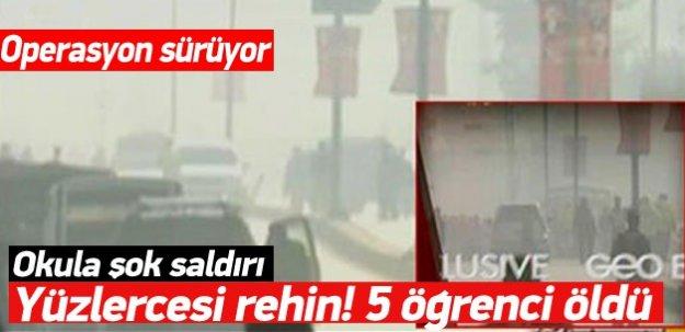 Şok! Okula saldırı! 5 öğrenci öldü yüzlercesi rehin! -İZLE