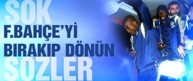 Şok sözler! Fenerbahçe'yi bırakıp dönün