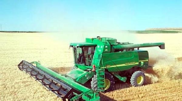 Söke Ovası'nda Buğday Hasadına Devam