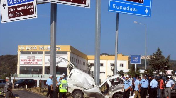 Söke'de Kaza: 1 Ölü, 12 Yaralı