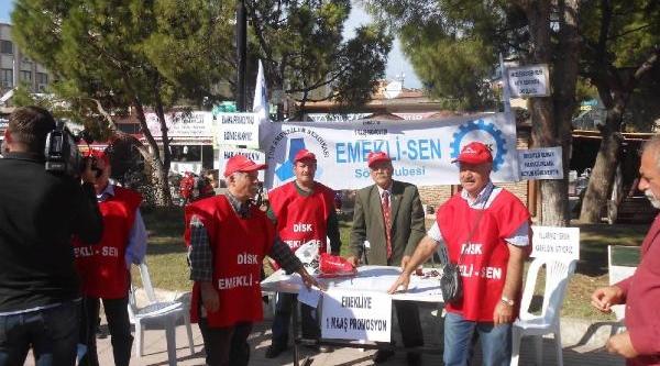 Sökeli Emeklilerden Promosyon Için Imza Kampanyasi