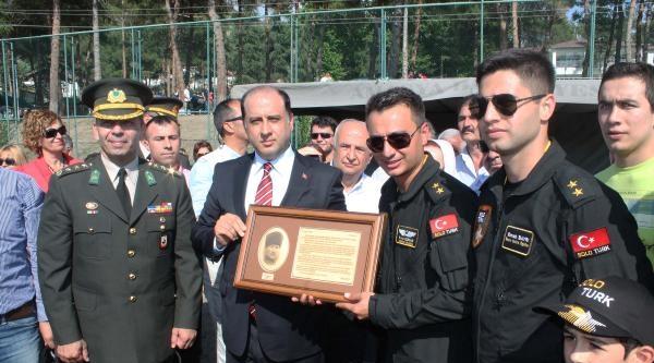 'solo Türk'ten Amasya'da Nefes Kesen Gösteri