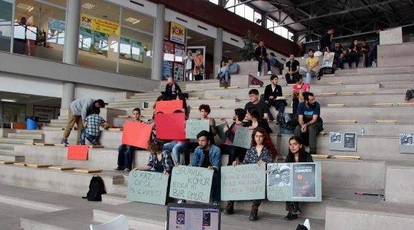 Soma Faciası Protestosuna Müzik Uyarısı