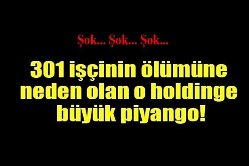 Soma Holding'e 86 milyon liralık piyango!