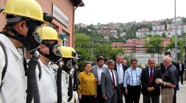 Soma Meclis Araştırma Komisyonu Zonguldak'ta Maden Ocağına Girdi (4)