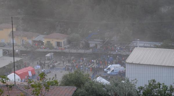 Soma'da 201 Şehit, Yüzden Fazla Madenci Mahsur (1)