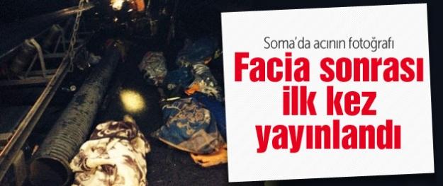 Soma'da acının fotoğrafı!