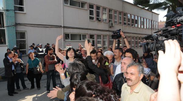 Soma'da Avukatlar Kelepçelenip Gözaltına Alındı (3)