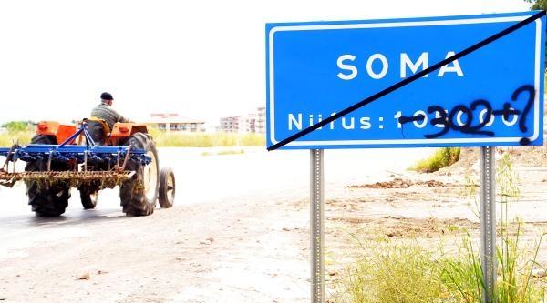 Soma'da Herşeyi Anlatan Tabela