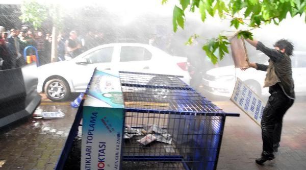 Soma'da Yürüyüşe Polis Müdahalesi: 4 Yaralı - Fotoğraflar