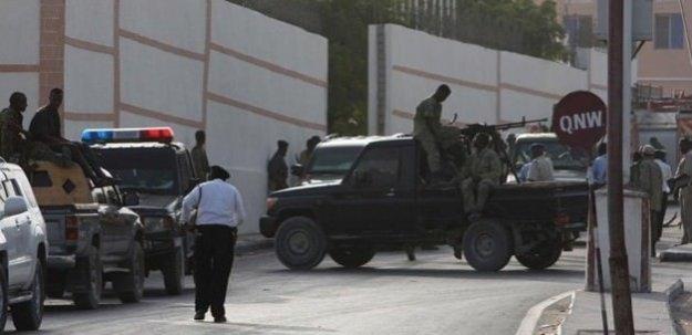 Somali'de Türk Büyükelçiliği önünde patlama