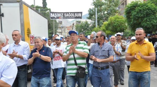 Somalı Madenciler Bugün De Oturma Eylemi Yaptı (2)
