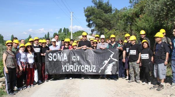 Somalı Madenciler İçin Buca'da Fidanlar Dikildi
