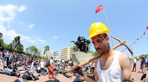 Somalı Madenciler İçin Flash Mob Eylemi