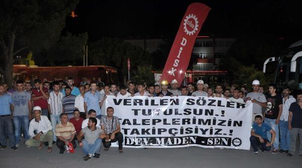 Somalı Madenciler, Talepleri İçin Ankaraya Yola Çikti