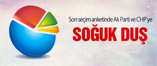 Son ankette Ak Parti ve CHP'ye kötü haber